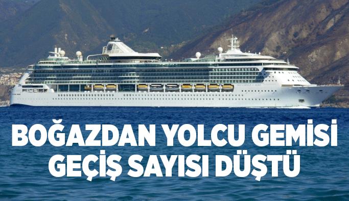 Çanakkale Boğazı'ndan yolcu gemisi geçiş sayısı düştü
