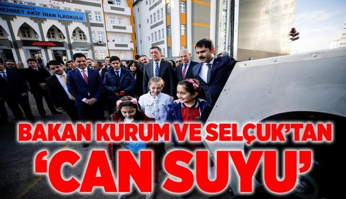 Bakan Murat Kurum ile Milli Eğitim Bakanı Ziya Selçuk'tan can suyu
