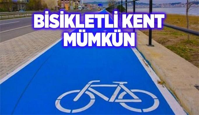 Bisikletli kent mümkün