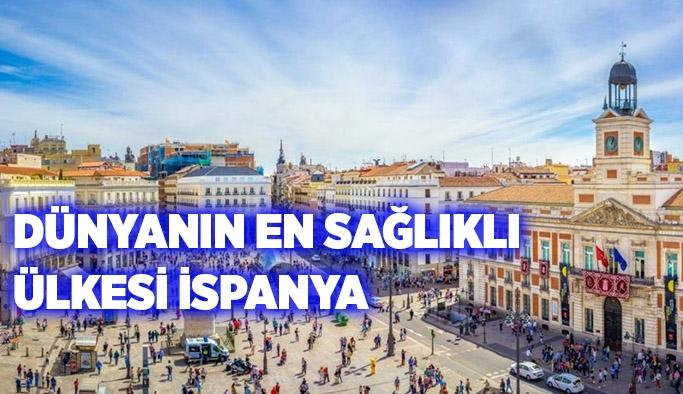 Dünyanın En Sağlıklı Ülkesi İspanya