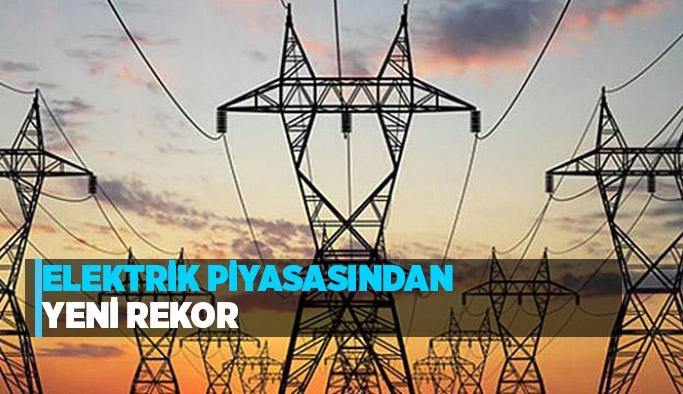 Elektrik Piyasasından Yeni Rekor