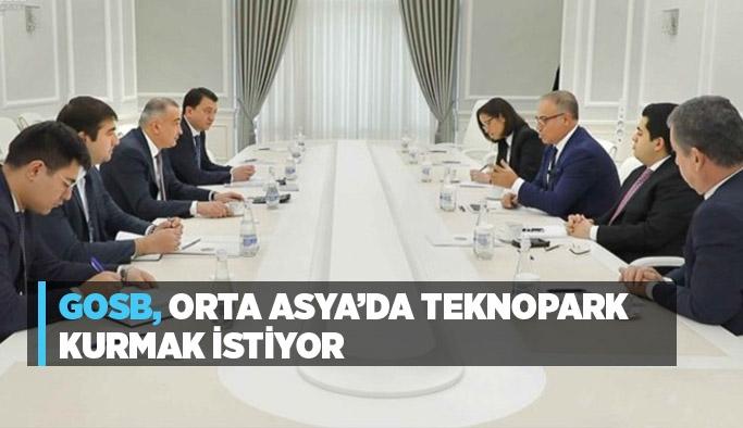 GOSB, Orta Asya'da teknopark kurmak istiyor