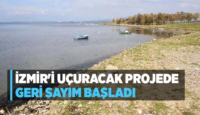 İzmir'i uçuracak projede geri sayım başladı