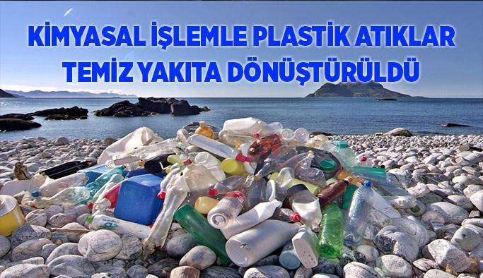 Kimyasal işlemle plastik atıklar temiz yakıta dönüştürüldü