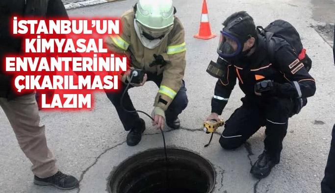 TMMOB Kimya Mühendisleri Odası Başkanı Ali Uğurlu: İstanbul'un kimyasal envanterinin çıkarılması lazım