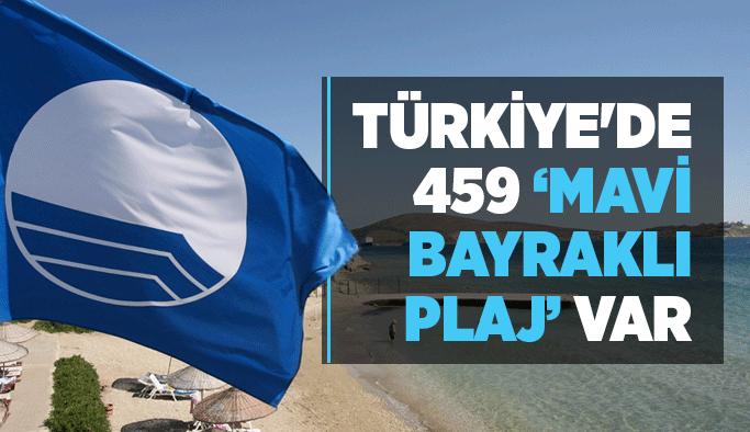 Türkiye'de 459 'Mavi Bayraklı Plaj' var