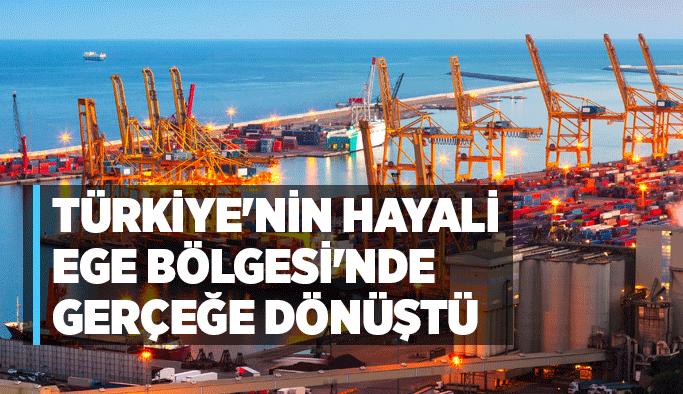 Türkiye'nin hayali Ege Bölgesi'nde gerçeğe dönüştü