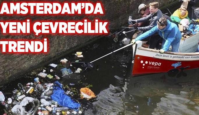 Amsterdam'da yeni çevrecilik trendi