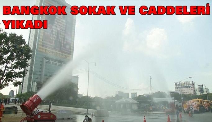 Bangkok belediyesi hava kirliliği ile mücadele ediyor