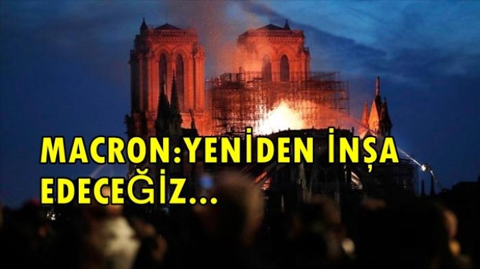 850 Yıllık Notre Dame Katedrali'ndeki Yangın 8,5 Saat Sonra Söndürüldü