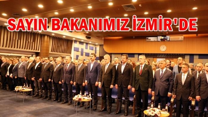 Çevre Bakanımız İzmir'de
