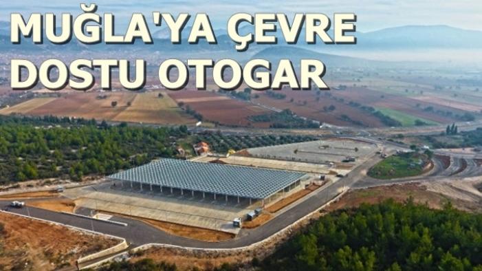 Türkiye'nin İlk Güneş Enerjili Otogarı