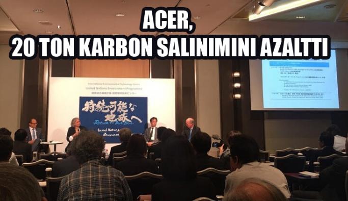 Acer, yaklaşık 20 ton karbon salımını  azalttı