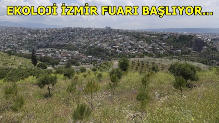 Ekoloji İzmir Fuarı başlıyor: 500 fidan dikilecek