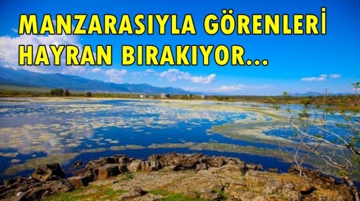 Hatay'daki volkanik göl turizme kazandırılacak