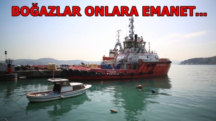 İstanbul Boğazı'nın geçiş güvenliği onlara emanet