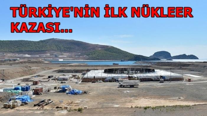 Türkiye'nin ilk nükleer kazası