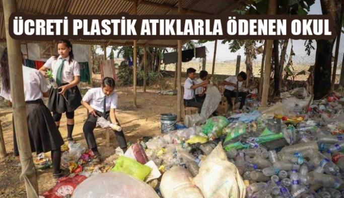 Ücreti Plastik Atıklarla Ödenen Okul