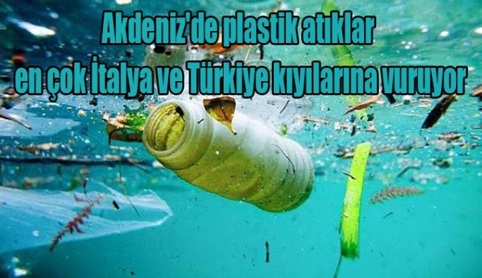 Akdeniz'de plastik atıklar en çok İtalya ve Türkiye kıyılarına vuruyor