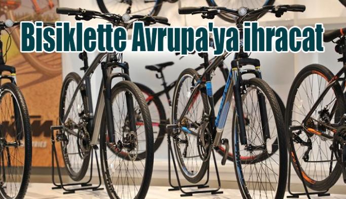 Bisiklette Avrupa'ya ihracat