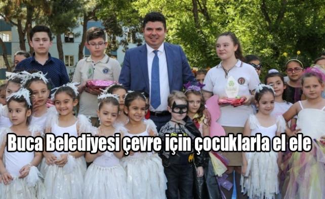 Buca Belediyesi çevre için çocuklarla el ele