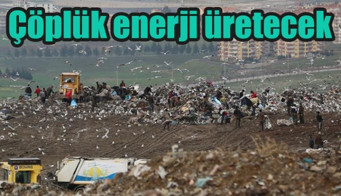 Çöplük enerji üretecek