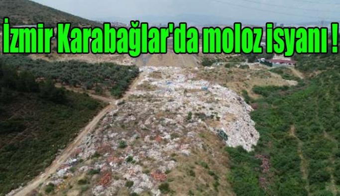 İzmir Karabağlar'da moloz isyanı !