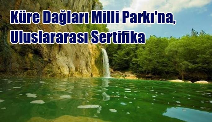Küre Dağları Milli Parkı'na, Uluslararası Sertifika