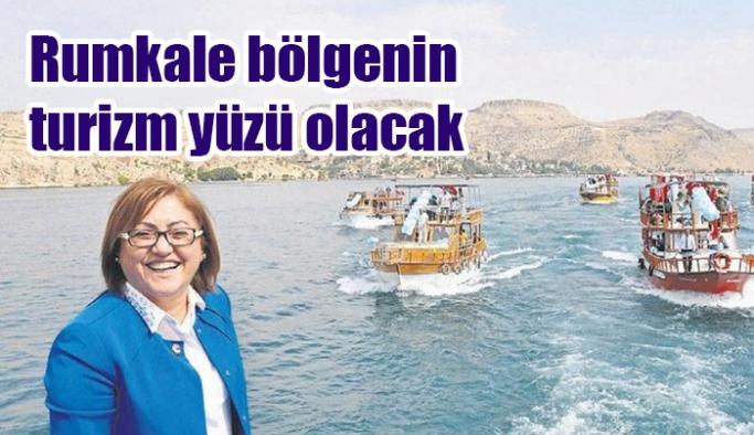 Rumkale bölgenin turizm yüzü olacak