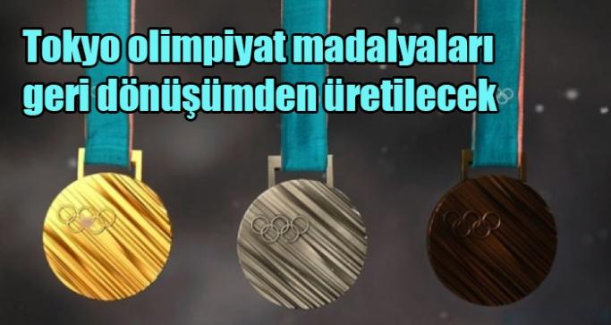 Tokyo olimpiyat madalyaları geri dönüşümden üretilecek