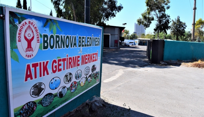 Bornova Belediyesi'nden atıklara 'İkinci hayat' projesi