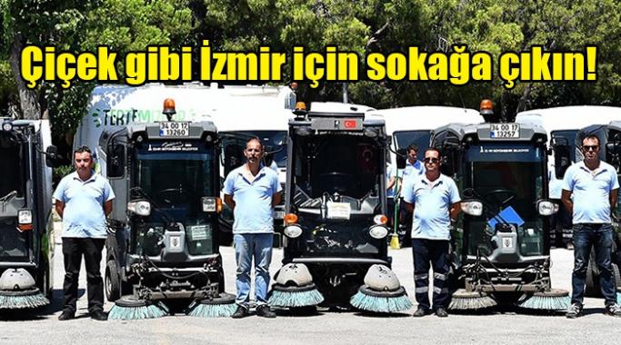 Çiçek gibi İzmir için sokağa çıkın!
