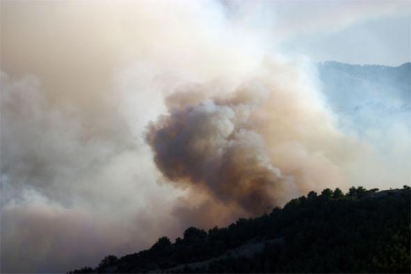İzmir'de bu yılın en büyük yangını