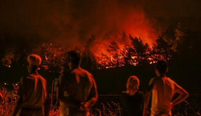 İzmir'deki orman yangınlarında son durum