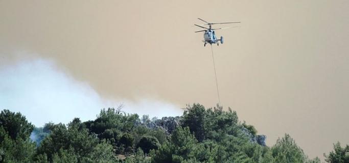 İzmir Karabağlar'daki yangın kontrol altına alındı