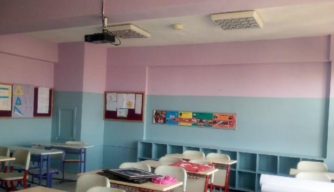 Büyükşehir İzmir'in okullarına destek vermeye devam ediyor
