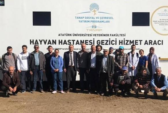 Gezici Hayvan Hastanesi Horasan'da