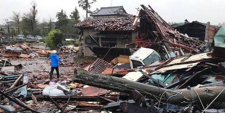 Japonya'daki Hagibis Tayfunu: 11 ölü