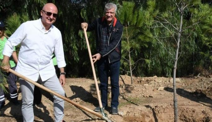 Narlıdere'de 'Yeşil Alan' seferberliği