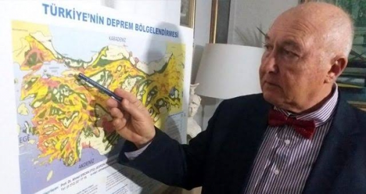 """Prof. Dr. Övgün Ahmet Ercan: """"Büyük İstanbul depremi diye bir şey yok"""""""