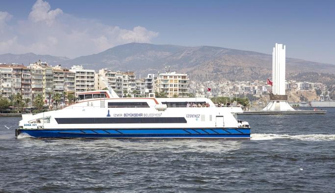 İzmir'de deniz seferleri Google Haritalar'a girdi