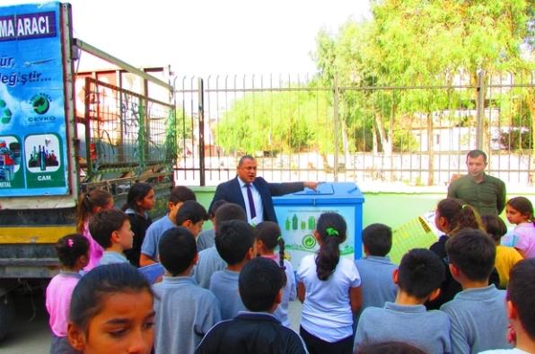Okullarda 'Çevre ve Atık Yönetimi' eğitimi