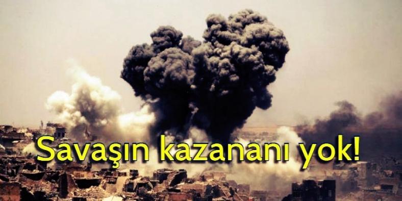 Savaşlar, kalıcı çevre hasarı bırakıyor
