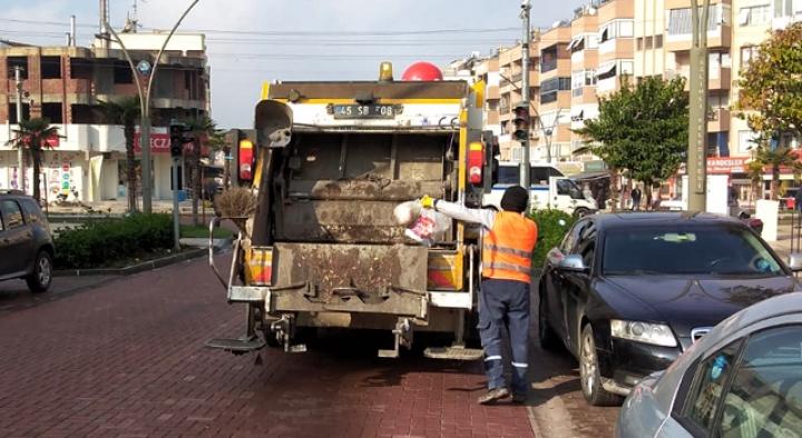 Salihli'de çöp saati uygulaması başlıyor