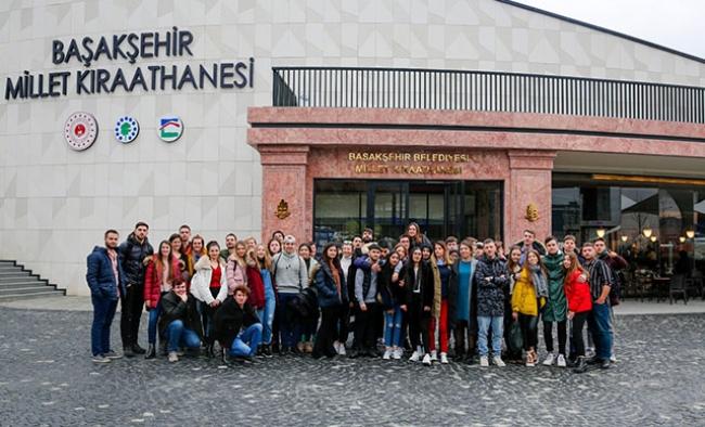 6 ülkeden çevreci öğrenciler Başakşehir'deydi