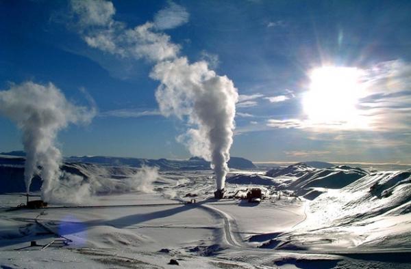 İzlanda geri dönüşümü sürecinde jeotermal enerji kullanacak