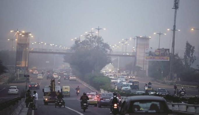 Dünyada havanın en kirli olduğu 30 şehrin 21'i Hindistan'da