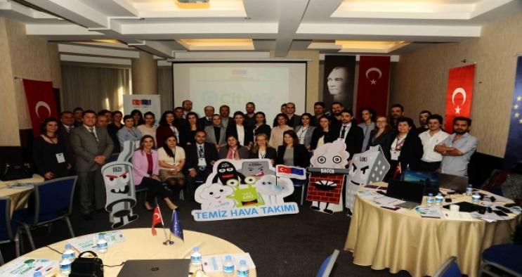 Ege emisyon envanteri çalıştayı İzmir'de yapıldı