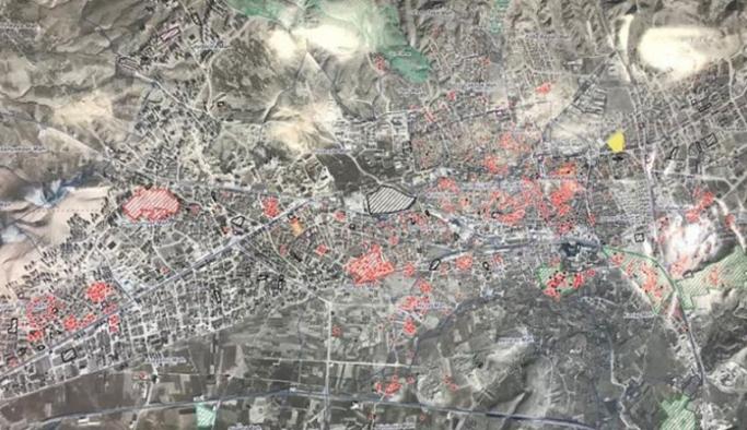 Elazığ'daki binaların röntgeni çekiliyor