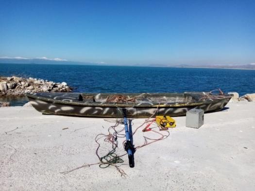 Elektrikle balık avlayan 2 kişiye 147 bin liralık ceza!